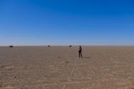 360 degrees of gravel plain